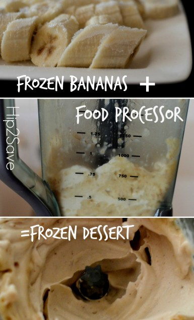 Frozen Banana Dessert