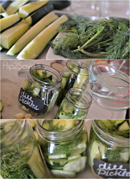 how to make refrigerator pickles Hip2Save