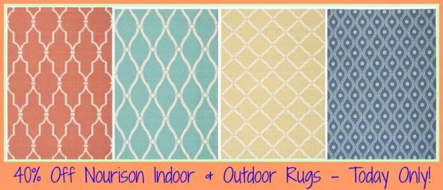 Homedepot Com 40 Off Nourison Indoor Outdoor Area Rugs Free