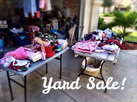 Yard Sale Hip2Save