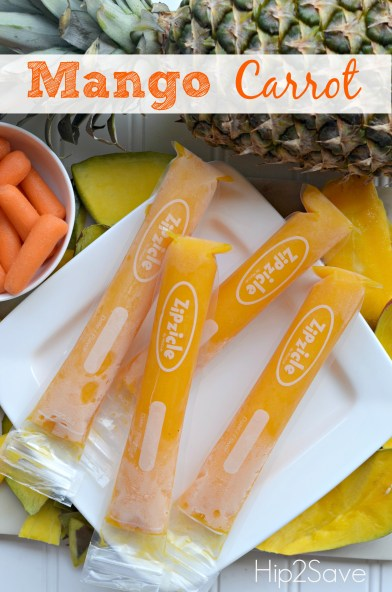 Mango Carrot Otter Pops Hip2Save