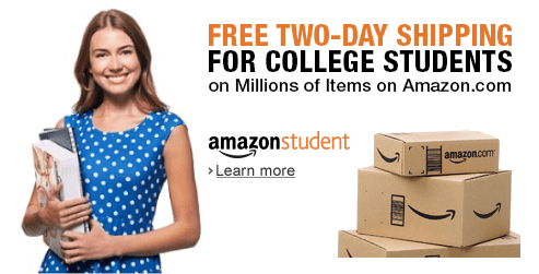 Amazon prime students free one year