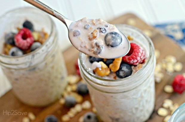 Easy Overnight Oats Hip2Save