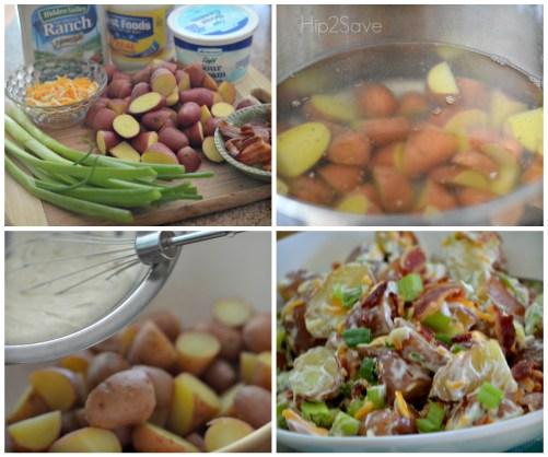 How to make loaded potato salad Hip2Save