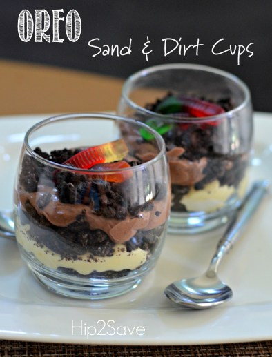 Oreo Sand & Dirt Cups Hip2Save