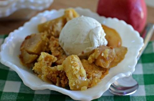 Easy 3 Ingredient Apple Dump Cake Hip2Save