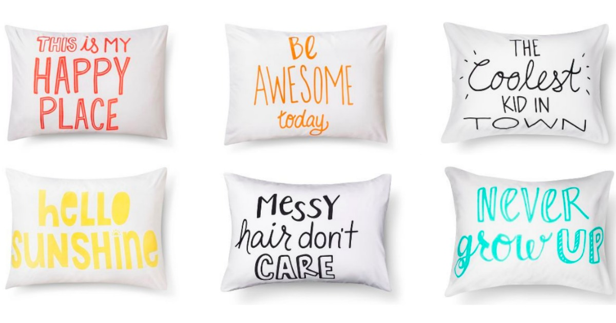 inspirational pillowcases only 3 37