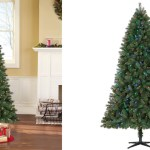 Walmart Pre Lit 7 5 Norwich Spruce Christmas Tree W Color Changing Lights Only 68 Shipped Hip2save