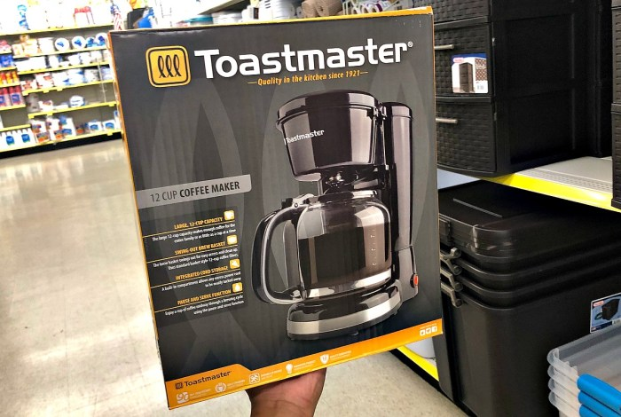 Toastmaster Coffee Maker Single Cup