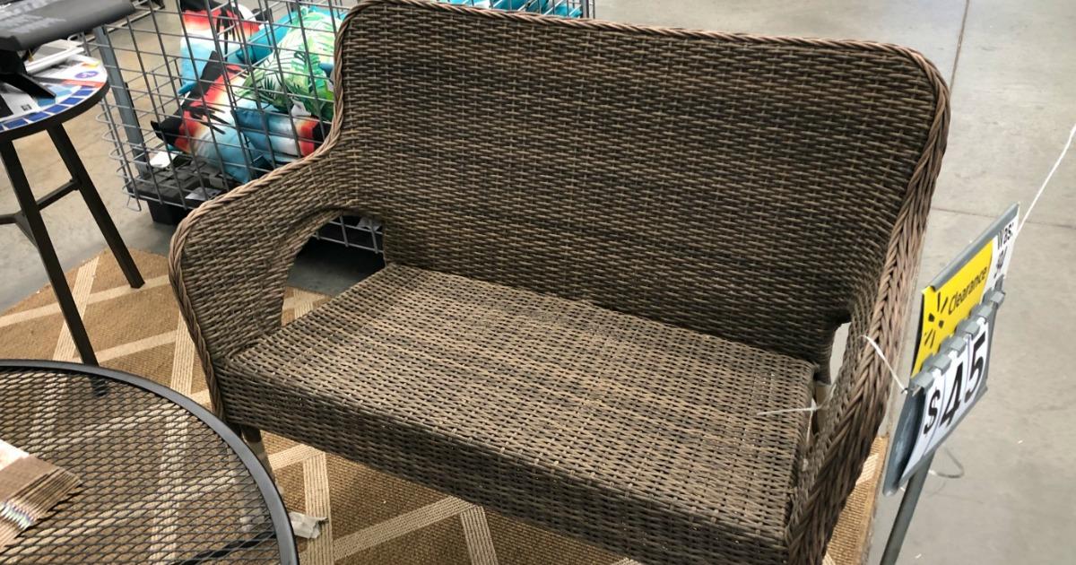 outdoor patio furniture at walmart