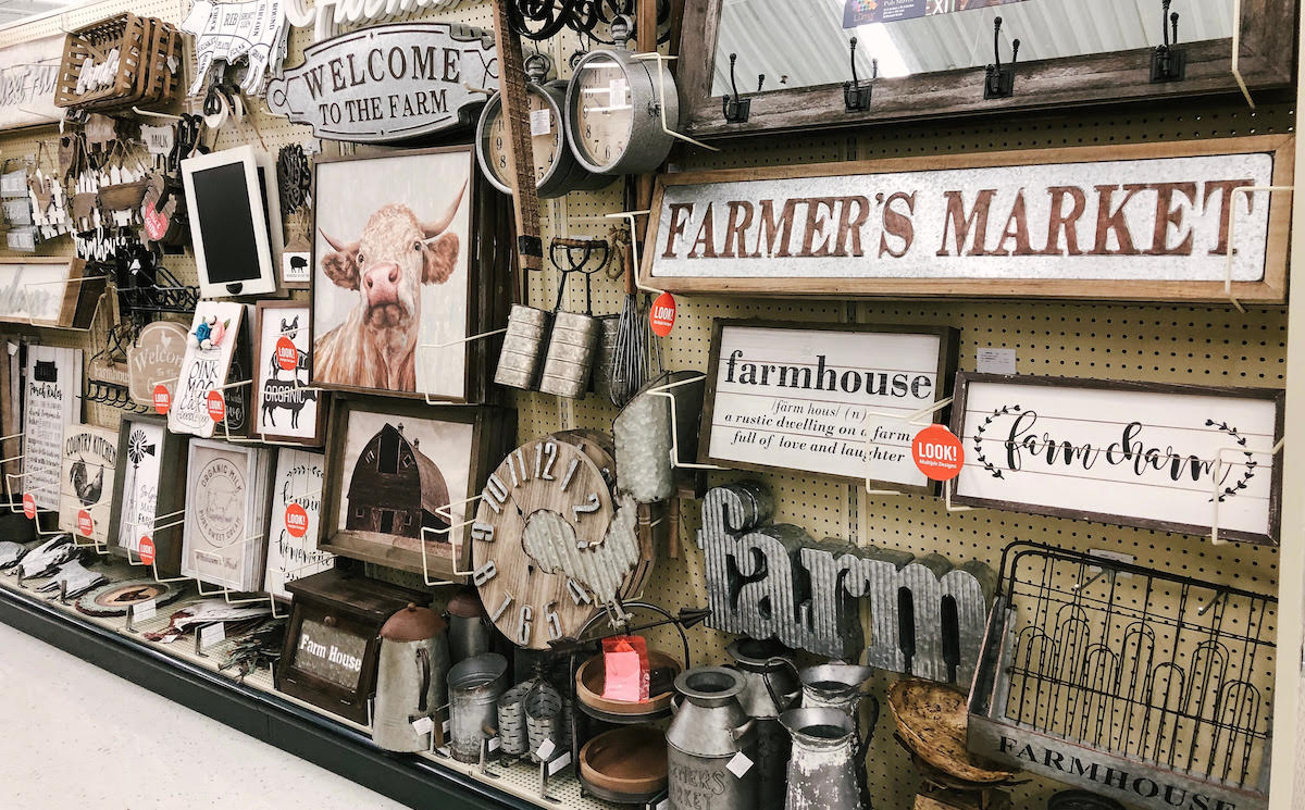 Hobby lobby country aisle