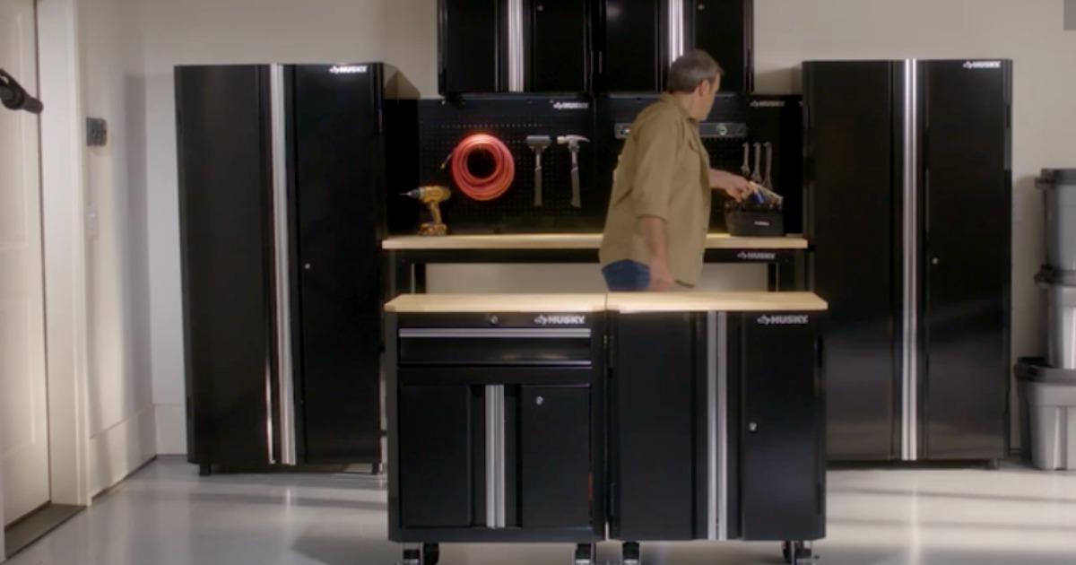 25 Off Husky Garage Storage Cabinets At Home Depot Hip2save