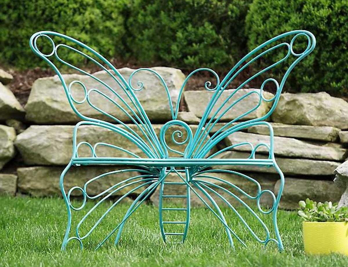 kirkland s butterfly metal patio chairs