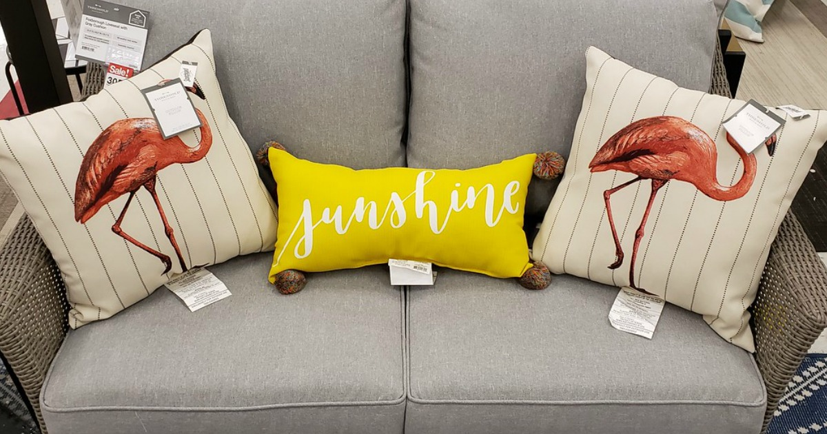 outdoor pillows cushions at target