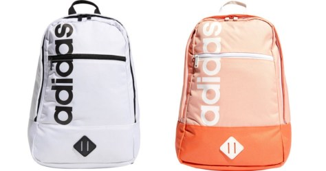 white and coral adidas backpacks