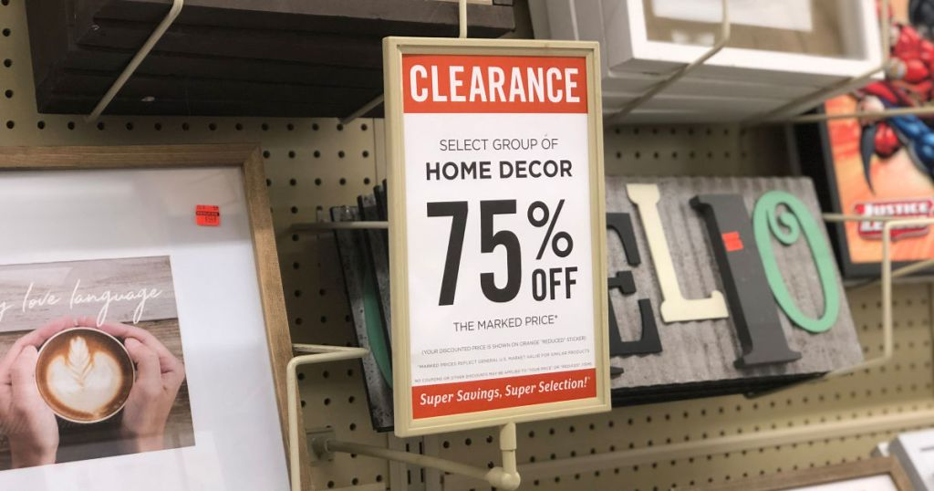 Up to 75% Off Home Decor & Furniture at Hobby Lobby on Hobby Lobby Furniture Clearance id=80034