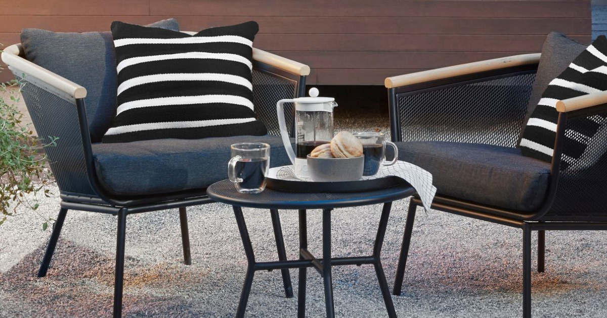 up to 30 off patio furniture at target