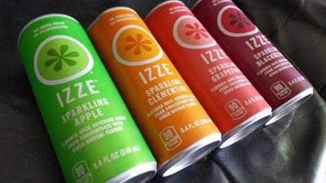 Izze sparkling beverages