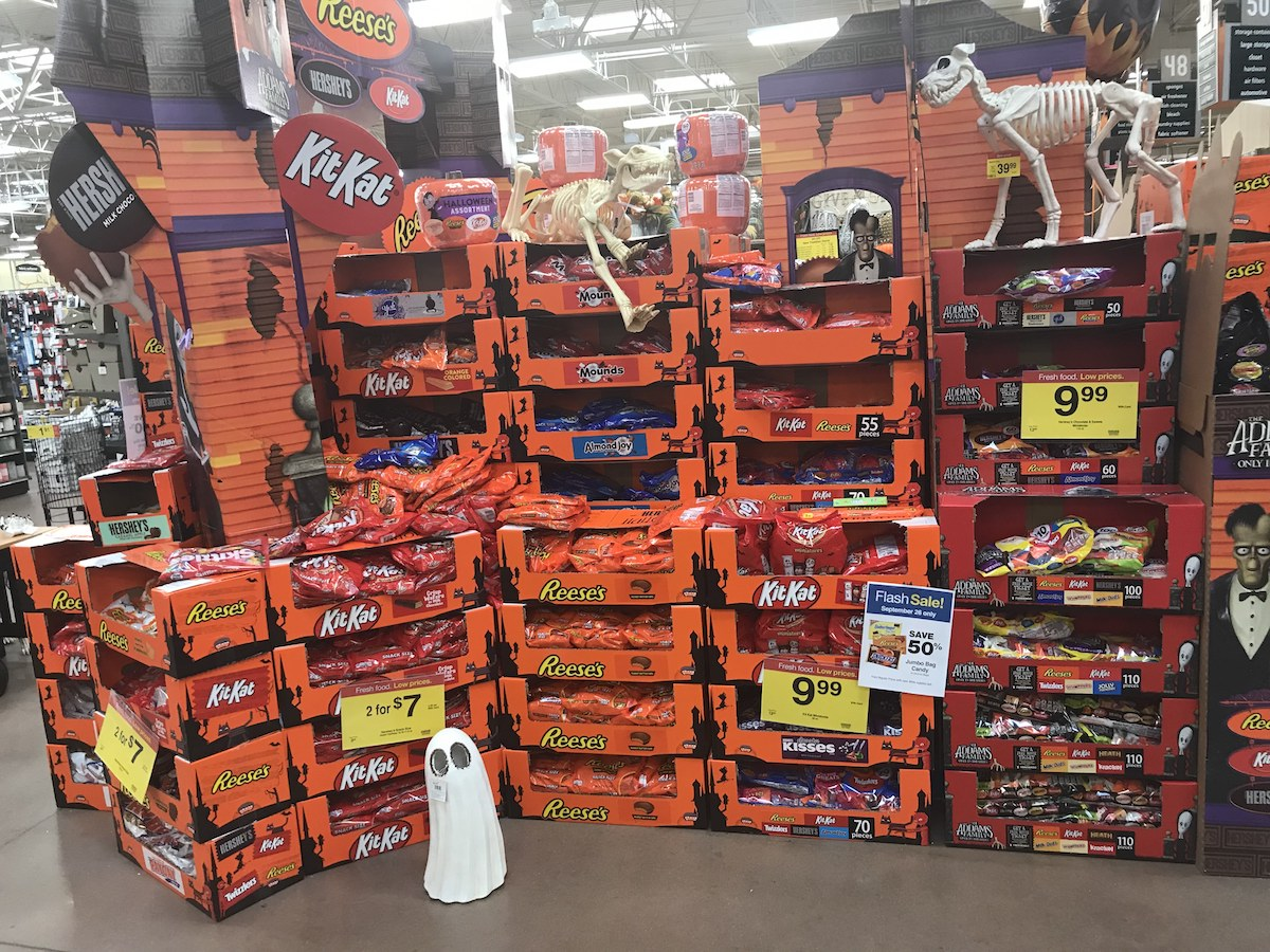 50% Off Halloween Candy Jumbo Bags at Kroger Stores ...