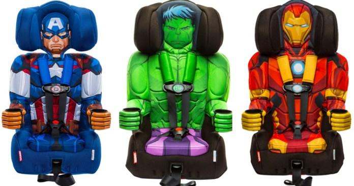 Super Hero Car Seats - Iron man, Hulk and Captain America