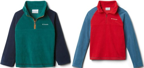 Columbia brand jackets in two styles