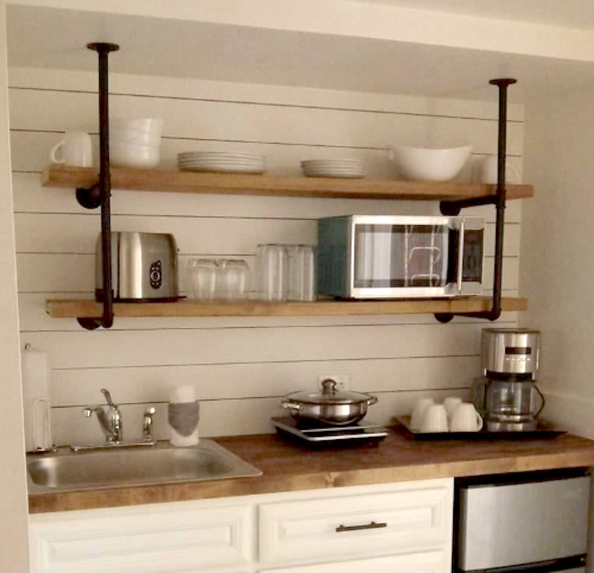 floating shelves from amazon for any