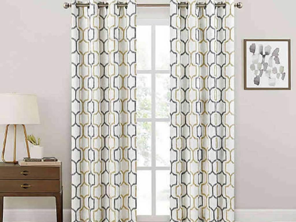 room darkening curtain panels