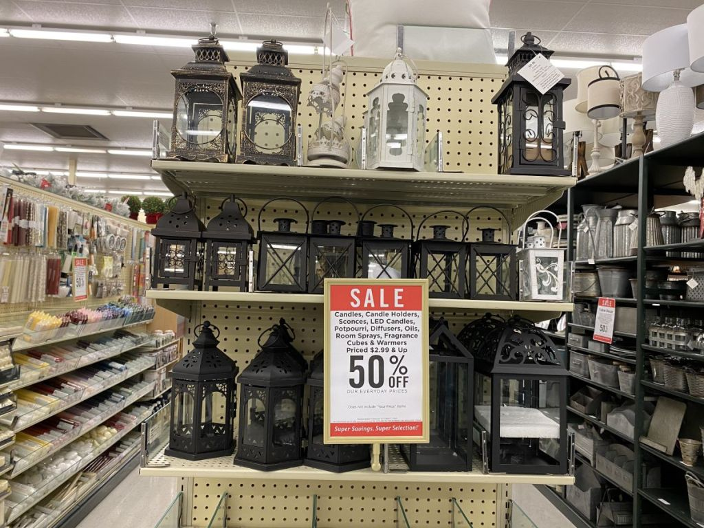 50% Off Candles at Hobby Lobby | In-Store & Online - Hip2Save on Candle Globes Hobby Lobby id=88433