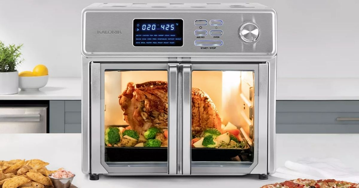 kalorik air fryer oven from 139 99