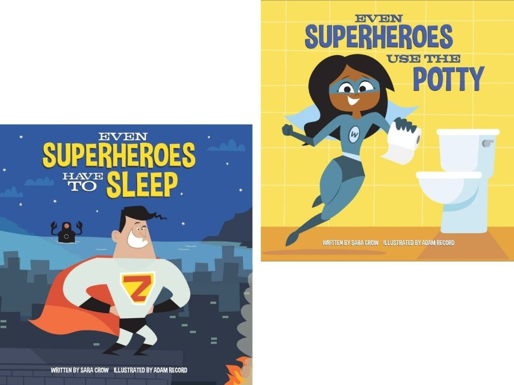 Even Superheroes Books