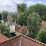 Rooftop view of Bruges