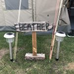 tent sign 'Heather'
