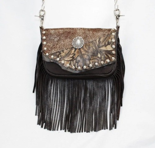 XL Conceal Carry w/ Fringe Hip Bags