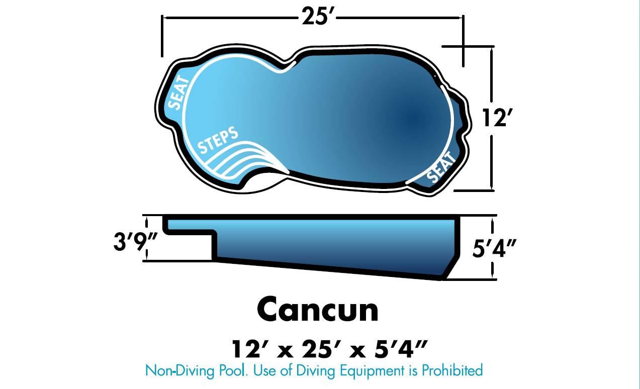 Cancun Swimming Pool