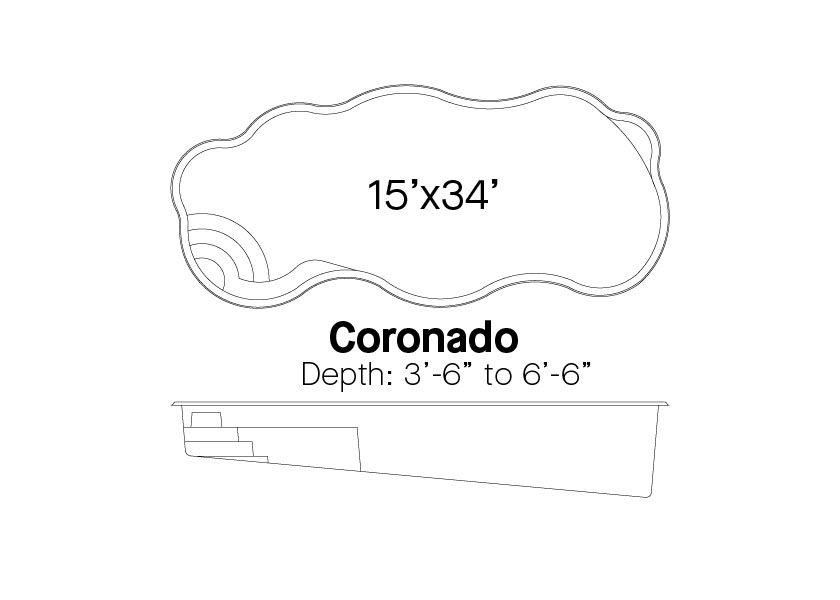 Latham Fiberglass Pools Coronado Info