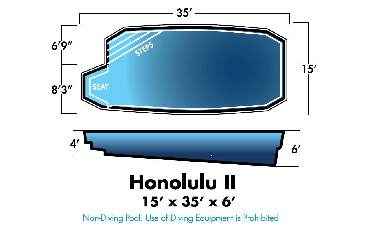 Honolulu II Swimming Pool