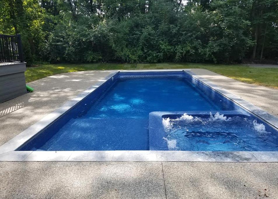 Astoria fiberglass pool