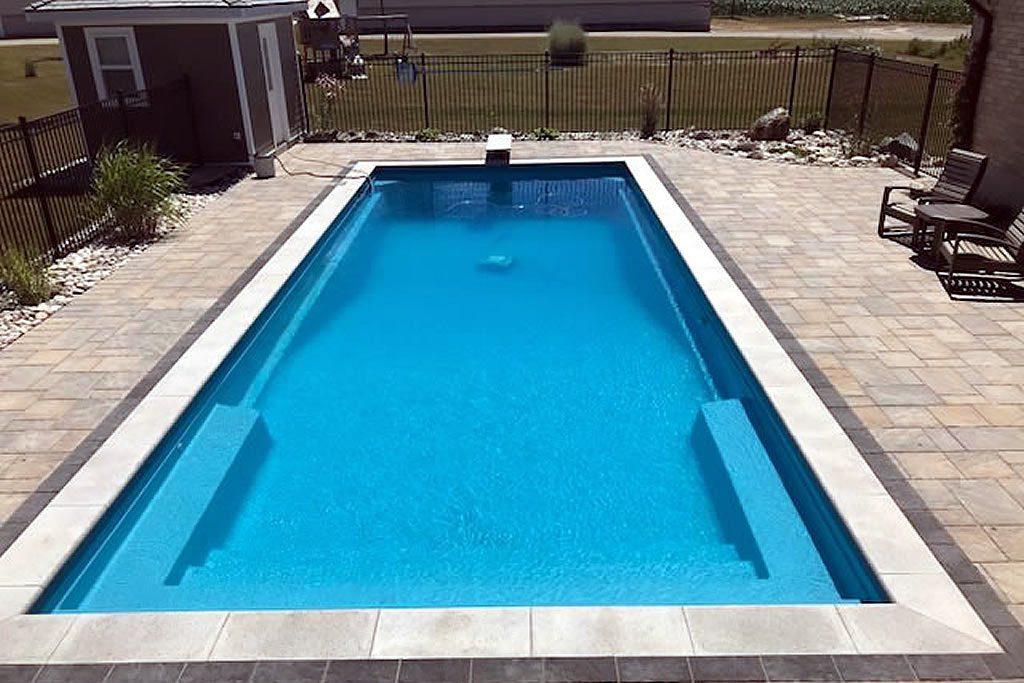 Tampico I Fiberglass Pool