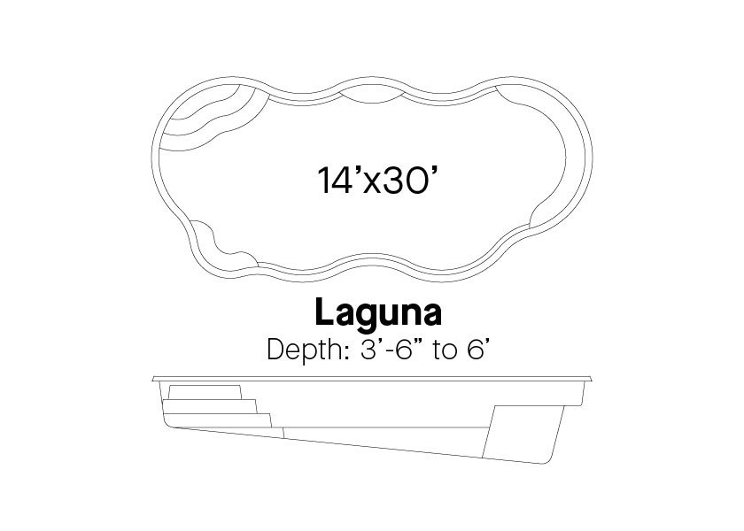 Latham Fiberglass Pools Laguna Info