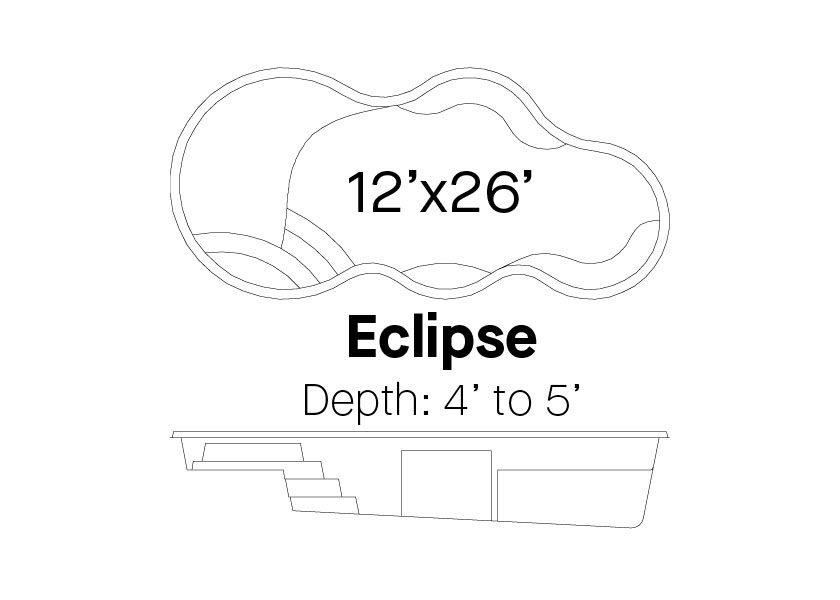 Latham Fiberglass Pools Eclipse