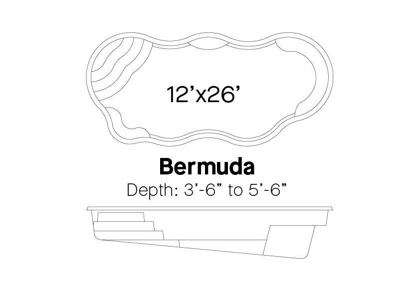 Latham Fiberglass Pools Bermuda