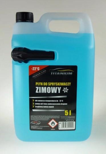 Płyn titanium zimowy -22
