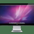 Apple LED Cinema Display, la pantalla de 27 pulgadas de Apple