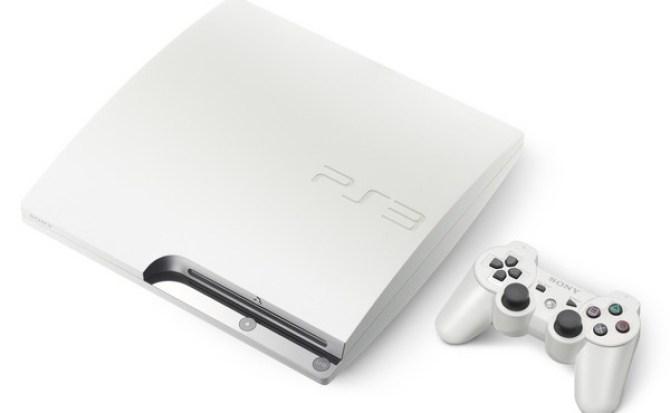 Reaparece la PS3 Slim en blanco con opciones de 160 y 320GB de almacenamiento