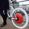 Prototipo de motor que convertirá cualquier bicicleta normal en eléctrica