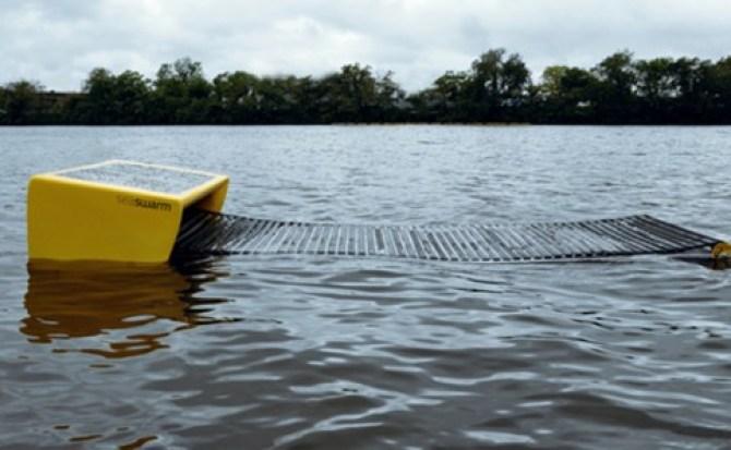 El MIT crea un robot acuático que se encargará de recolectar petróleo