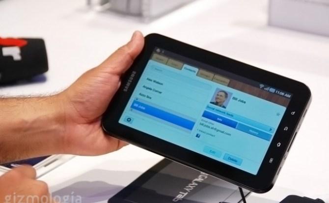Samsung incluye antena para televisión digital y analógica al Galaxy Tab y disponibilidad con todas las operadoras