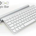 Magic Bar cargará tu teclado inalámbrico de Apple y el Magic Trackpad de manera inductiva