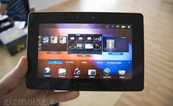 Razones por las que BlackBerry Playbook nunca despegó