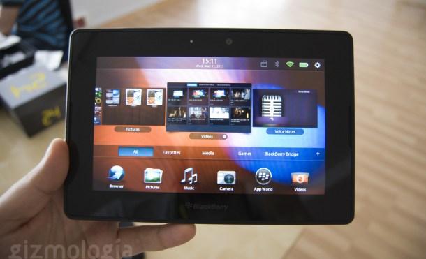 El emulador de Android para BlackBerry Playbook filtrado